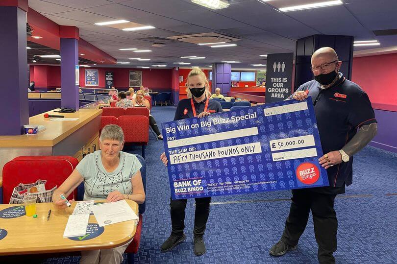 Big Buzz Special £50k Jackpot Winner at Buzz Bingo Hanley
